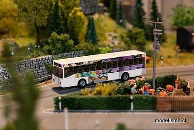 Faller 161495 Car System Starter Set Bus MB O405 incl. Decos