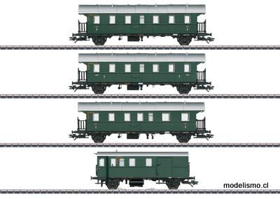 Märklin H0 43146 Set de coches con coche piloto