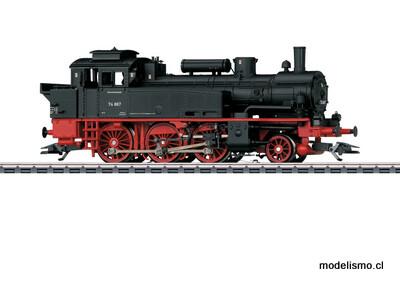 Märklin H0 36746 Locomotora de vapor de la serie 74