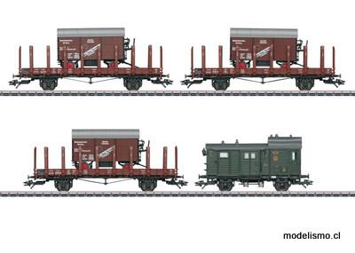 Märklin H0 48829 Set de vagones de mercancías