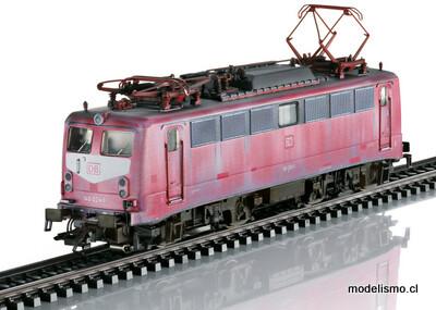 Reserva anticipada Trix 22400 H0 Locomotora eléctrica de la serie 140 con sonido con Pantógrafos subibles y bajables, gobernables en digital