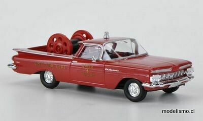Reserva anticipada Brekina 19940 Chevrolet El Camino, Fire Rescue - Vista New York, Bombero (US) 1:87