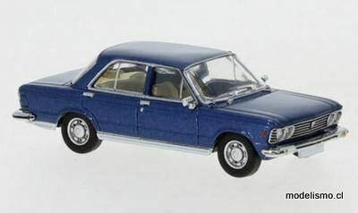 PCX 870057 Fiat 130 azul metálico, 1969 1:87
