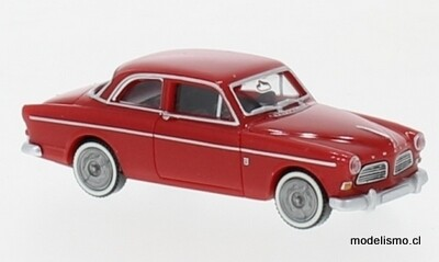 Reserva anticipada Wiking H0 22803 Volvo Amazon rojo