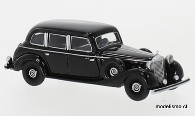 BoS 87720 Mercedes 770 (W150) sedán negro, 1940 1:87