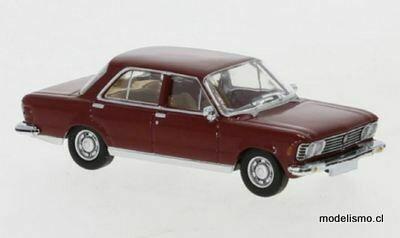 Reserva anticipada PCX 870058 Fiat 130 rojo oscuro, 1969 1:87