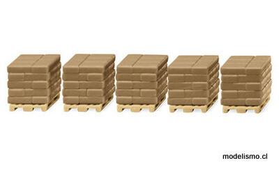Reserva anticipada Wiking H0 1823 Material de construcción del juego de accesorios III