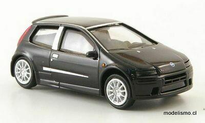 Reserva anticipada Ricko 38429 Fiat Punto negro, 2003, 1:87