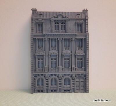 Edificio de fondo H0 Hotel