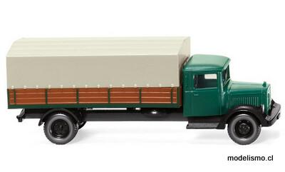 Reserva anticipada Wiking N 94307 Mercedes L 2500, verde/marrón, 1935