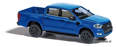 Reserva anticipada Busch H0 52808 Ford Ranger azul metalico