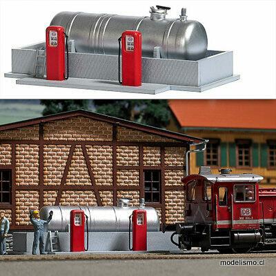 Reserva anticipada Busch H0 1158 Gasolinera para depósito