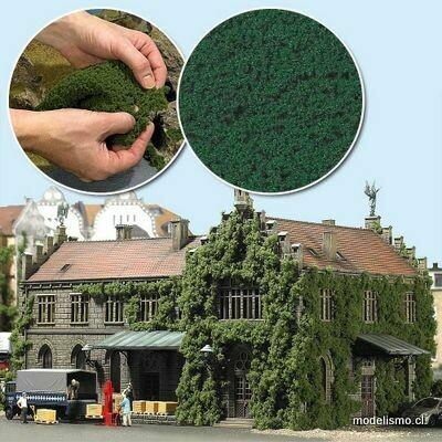 Reserva anticipada Busch H0 7343 follaje verde oscuro
