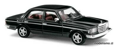Reserva anticipada Busch H0 46872 Mercedes W123 Sedan »Black Edition«