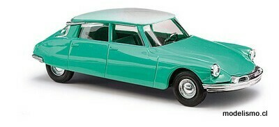 Reserva anticipada Busch H0 48020 Citroën DS19 bicolor, verde