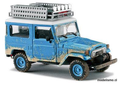 "Reserva anticipada Busch H0 43023 Toyota Land Cruiser ""Offroad"", azul"