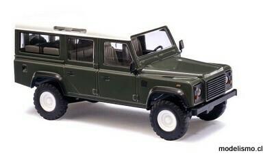 "Reserva anticipada Busch H0 50301 Land Rover Defender ""Verde"""