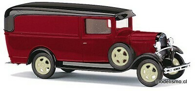Reserva anticipada Busch H0 47732 Ford Modelo AA, rojo