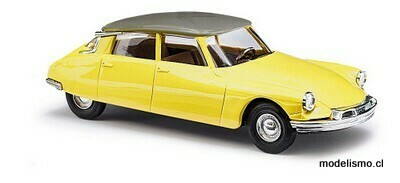 Reserva anticipada Busch H0 48028 Citroën DS19 bicolor, amarillo