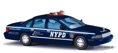 Busch H0 47611 Chevrolet Caprice, NYPD Auxiliary Police