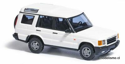 Reserva anticipada Busch H0 51902 Land Rover Discovery, blanco