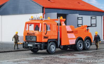 Reserva anticipada Kibri 14650 H0 MAN vehículo de recuperación de 3 ejes RAU