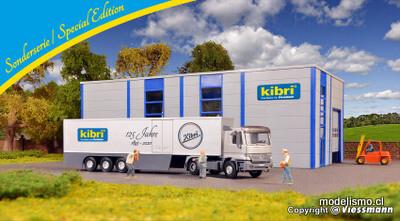 Reserva anticipada Kibri 12500 H0 MB Actros de 2 ejes con semirremolque de caja