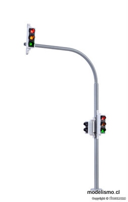 Reserva anticipada Viessmann 5094 Luces de arco H0 con luces peatonales y LED, 2 piezas