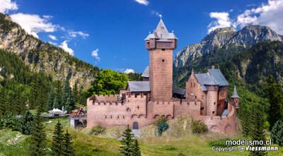 Reserva anticipada Kibri 39010 H0 Castillo de Falkenstein en Carintia