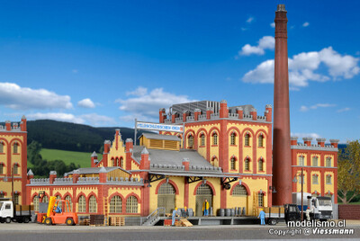 Reserva anticipada Kibri 39826 H0 cámara frigorífica y entrega a la fábrica de cerveza Feldschlösschen