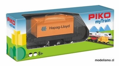 Piko 57022 H0 myTrain Flatcar con contenedor