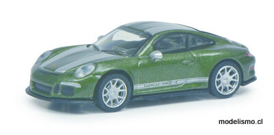 Schuco 452660100 Porsche 911 R verde 1:87