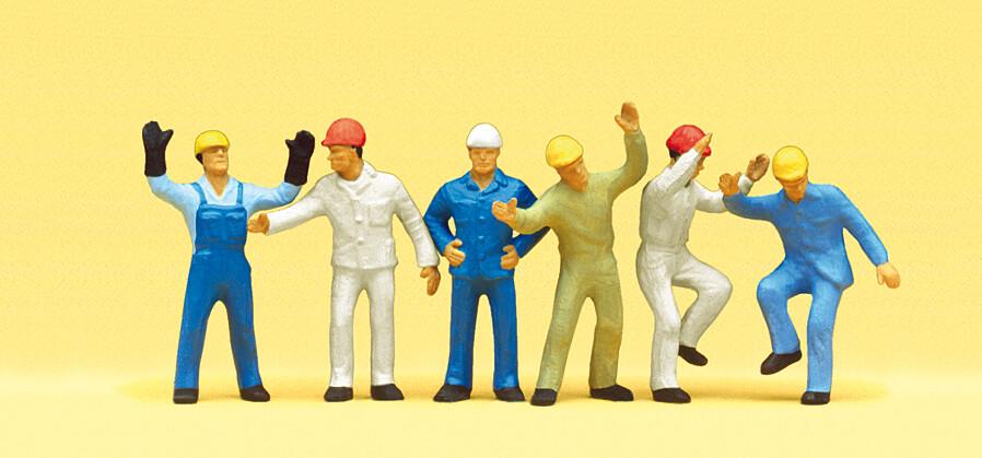 Preiser 10105 H0 - Trabajadores industriales