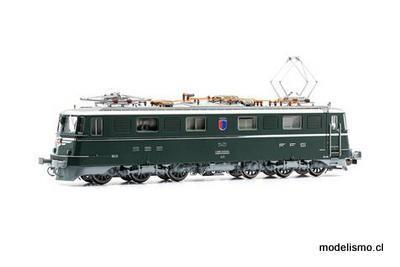 CH Piko 97200 SBB E-Lok Ae 6/6 11401 TICINO verde, CC Ep.IV 1978