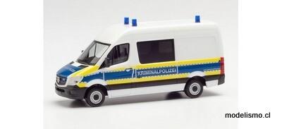 """Herpa 95563 Mercedes-Benz Sprinter 13 Medio bus """"Kriminalpolizei Brandenburg"""""""