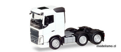 Herpa 308724 Tractor Volvo FH 6x2, blanco