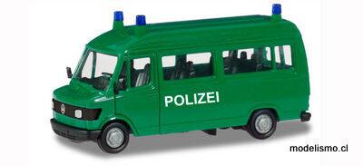 """Herpa 94139 Mercedes-Benz T1 Bus """"Polizei"""""""