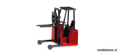 Herpa 53860 Accesorios para carretilla elevadora montada sobre camión con parachoques trasero, (contenido: 3 piezas)
