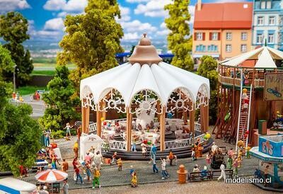 Reserva anticipada Faller 140335 Carrusel tazas de café brezo rosas