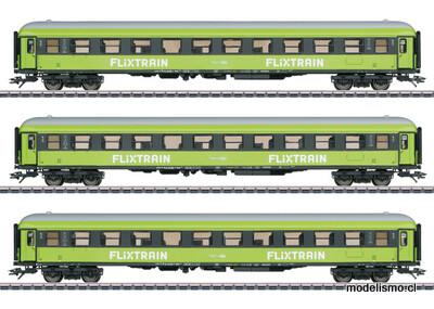 Reserva anticipada Märklin 42955 Express Train Passenger Car Set Flixtrain