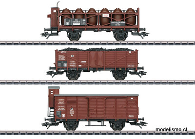 Reserva anticipada Märklin H0 46394 Set de vagones de mercancías