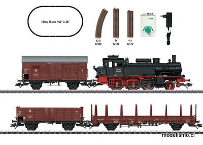 "Reserva anticipada Trix H0 21532 Caja de iniciación ""Tren mercancías de la Época III"" DR"
