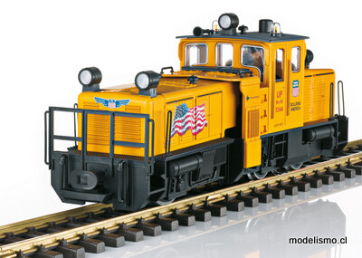 Reserva anticipada LGB 21672 Locomotora de limpieza de vías de EE. UU.