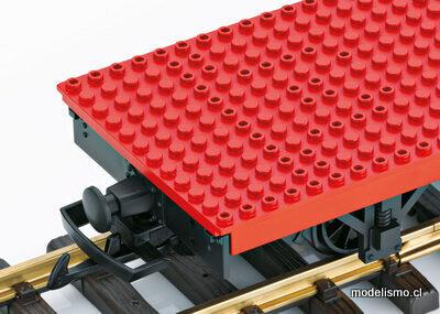 Reserva anticipada LGB 94063 Building Block Car