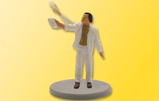 Viessmann 5013 H0 Pintor ambulante con cepillo, en movimiento