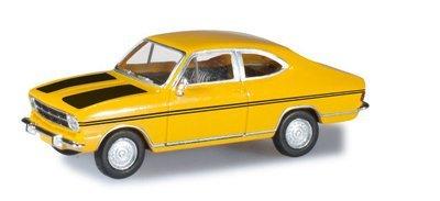 Herpa 024914-002 Opel Kadett B Coupé Rallye escoba amarilla
