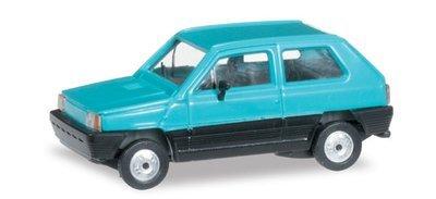 Herpa 027335-003 Fiat Panda azul turquesa