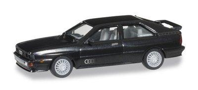 Herpa 033336-003 Audi Ur-Quattro havanna negro metalizado