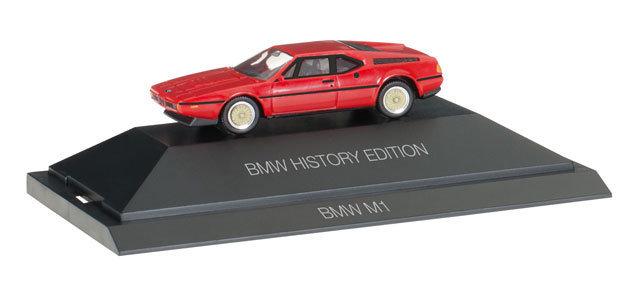Herpa 102025 BMW M1 BMW Historia Edición