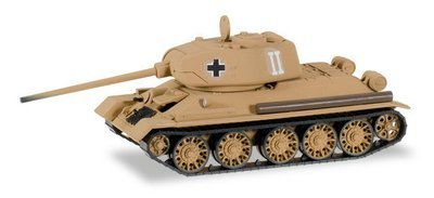 """Herpa 745673 Tanque capturado T-34/85 """"Batalla para Prusia del este"""""""